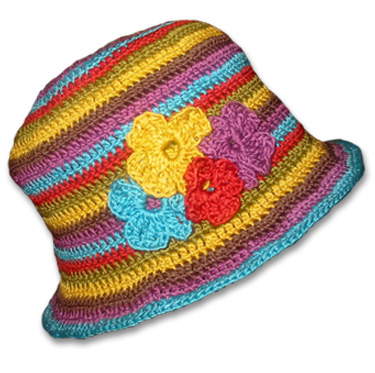 Crochet Children's Crazy Hats Free Pattern