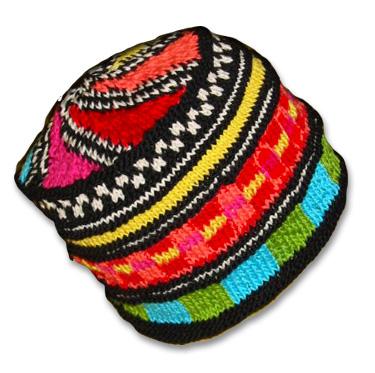 Knitwhits Knitting Patterns And Kits Indio Fair Isle Cotton Hat