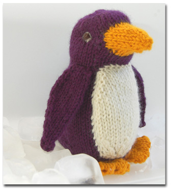 Knitting Patterns and Kits from Knitwhits - Stanley - Penguin Softie