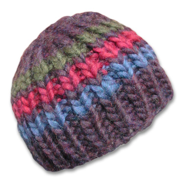 Free Knitting Pattern Beanie : KNITTING PATTERNS BEANIES FREE PATTERNS