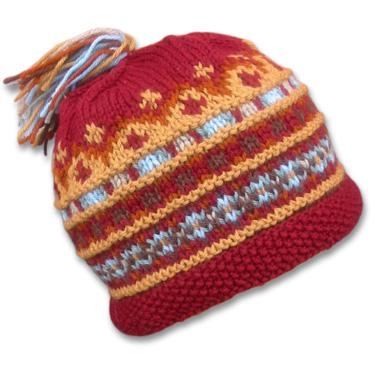 Knitting Pattern And Wool Kits : KnitWhits - Knitting Patterns and Kits - Chip Wool Fair Isle Hat