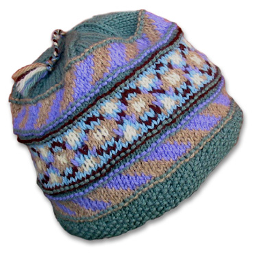 KnitWhits - Knitting Patterns and Kits - Dale Wool Fair Isle Hat